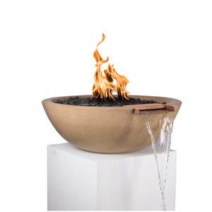 Sedona Fire & Water Bowl 27-inch Match Lit - Natural Gas