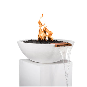 Sedona Fire & Water Bowl 33-inch Match Lit - Natural Gas