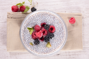 Easy 4 Ingredient Vegan Chia Pudding