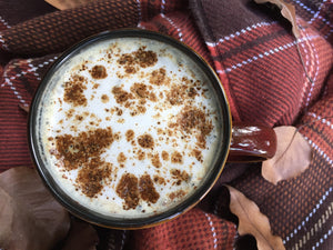 Golden Cocoa Pumpkin Spice Latte