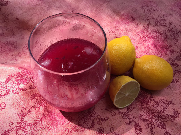 Fresh Lemon And Pink Pitaya Lemonade Made With Terra Powders Dragon Berry Powder
