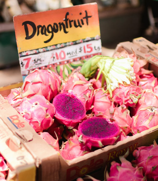 Dragonfruit Pink Pitaya In Market For Sale