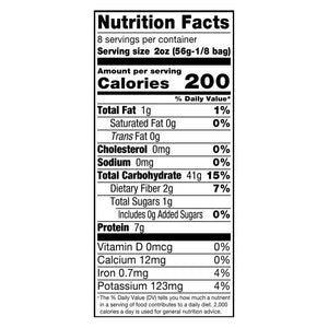 Alessi Organic Linguine Nutrition Facts