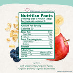 Load image into Gallery viewer, Amara Nutrition Facts And Ingredients Organic Oats And Berries Food For Babies
