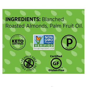 Non-GMO Barney Butter Bare Crunchy Almond Butter Ingredients