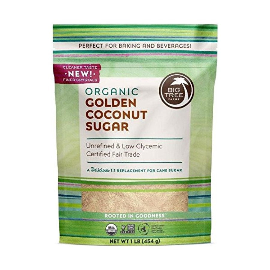 Big Tree Farms Organic Golden Coconut Sugar 16oz