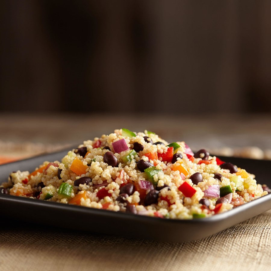 Black Bean Quinoa Salad Made With Organic TruRoots Quinoa