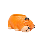 Load image into Gallery viewer, Terra Powders Adorable Animals Mini Planter Pot Bull Dog Wrinkles
