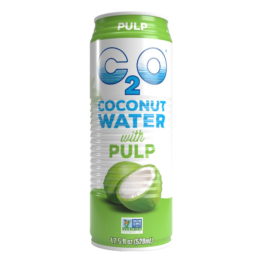 C2O Coconut Water With Pulp 17.5oz