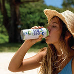 Load image into Gallery viewer, Woman In Summer Hat Outdoors Drinking C2O Pure Coconut Water With Coconut Pulp