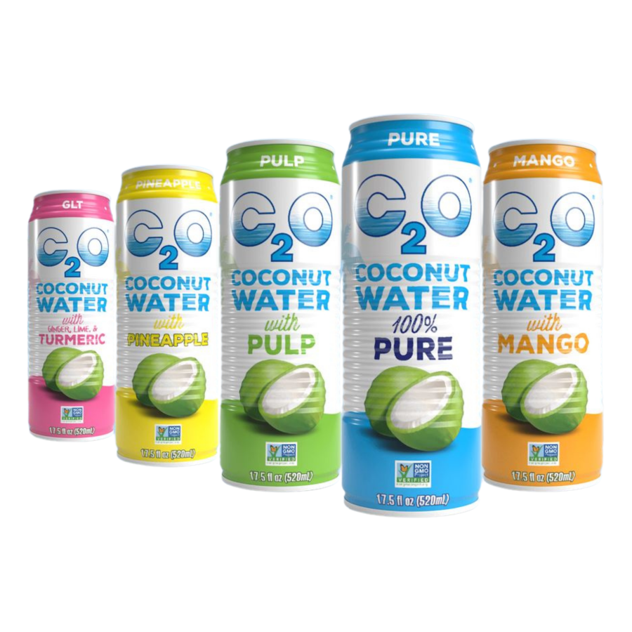 Terra Powders Non-GMO Coconut Water From C2O In Pure Mango Pineapple Ginger Lime Turmeric With Pulp Varieties