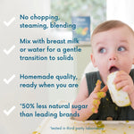 Load image into Gallery viewer, Amara Organic Baby Food Quality With Less Sugar Gentle Transition To Solid Food For Babies