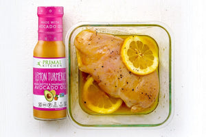 Chicken Breast Marinade Using Primal Kitchen Lemon Turmeric Made With Avocado Oil