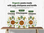 Load image into Gallery viewer, Chickapea Brand Organic Pasta Made With Only Chickpeas And Lentils Has As Much Protein As Chicken Or Fish
