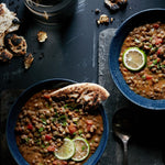 Load image into Gallery viewer, Coconut Curry Lentil Stew Recipe Made With Tru Roots Sprouted Green Lentils