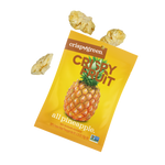 Load image into Gallery viewer, Crispy Green All Pineapple Freeze Dried Pineapple Crispy Fruit Pieces