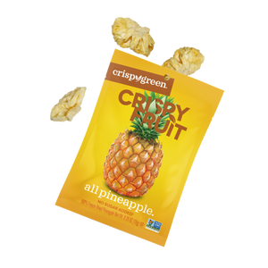 Crispy Green All Pineapple Freeze Dried Pineapple Crispy Fruit Pieces