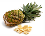 Load image into Gallery viewer, Pineapple And Freeze Dried Pineapple Pieces Crispy Green