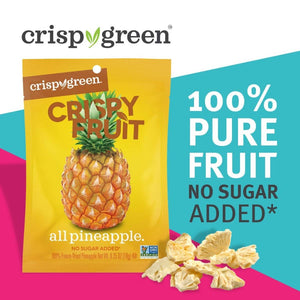 Crispy Green Freeze-Dried 100% Pure Fruit No Sugar Added Fruit Snack All Pineapple
