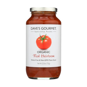 Dave's Gourmet Organic Red Heirloom Pasta Sauce 25.5oz
