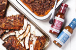 Load image into Gallery viewer, Easy Summer Barbecue Recipes Using Primal Kitchen BBQ Sauces BBQ Ribs Classic And Golden Barbeque Sauce