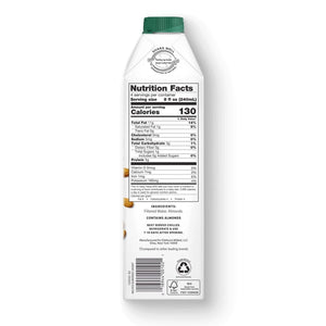 Elmhurst Almond Milk Nutrition Facts And Ingredients
