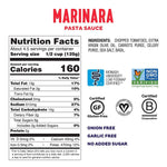Load image into Gallery viewer, Ingredients Of Low FODMAP Certified Marinara Pasta Sauce From Fody Nutrition Facts