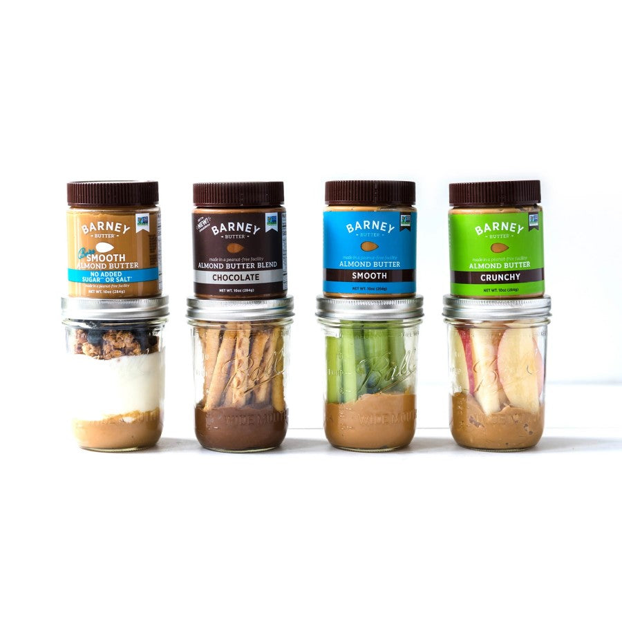 Four Barney Butter Peanut Free Snacks With Creamy Almond Nut Butters