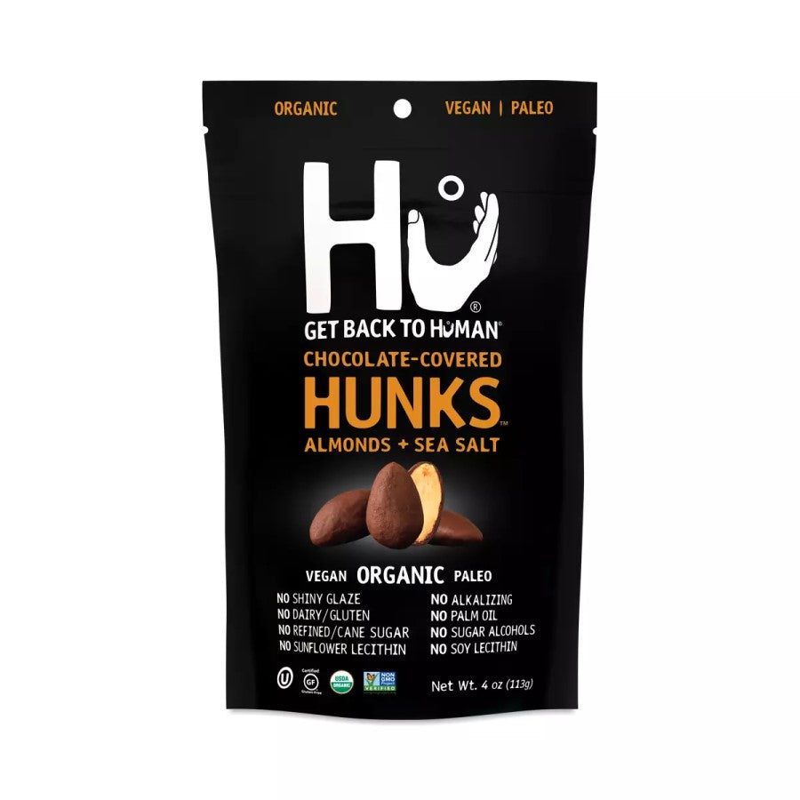 Hu Chocolate Covered Hunks Almonds With Sea Salt 4oz