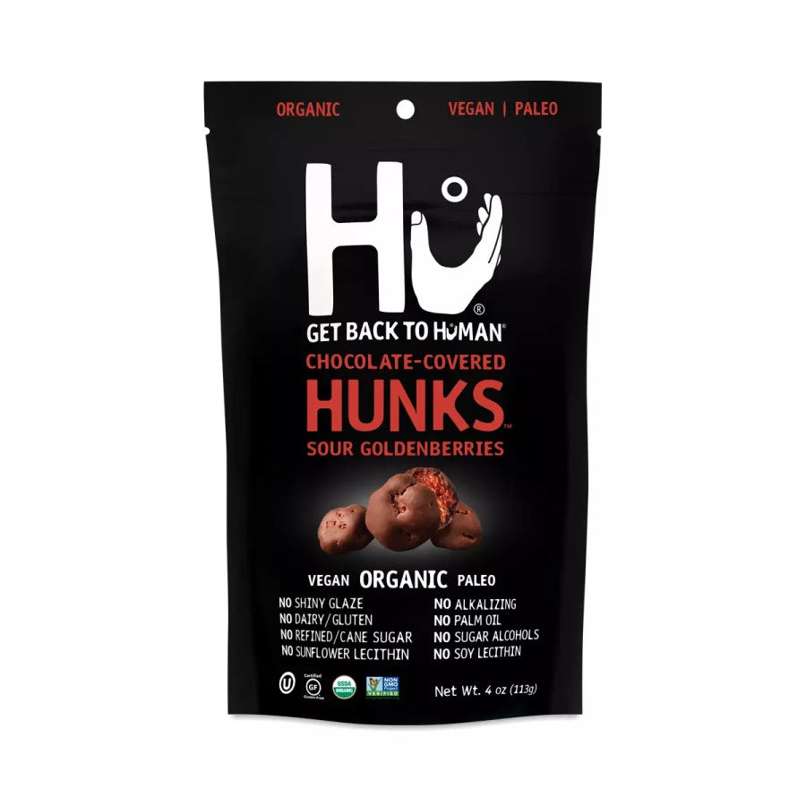 Hu Chocolate Covered Hunks Sour Goldenberries 4oz