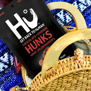 Bag Of Hu Chocolate Covered Goldenberry Hunks For Healthy Paleo Snacking On The Go
