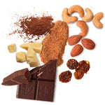 Load image into Gallery viewer, Real Food Ingredients In Hu Chocolate Covered Hunks