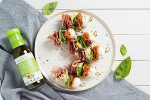 Italian Antipasto Skewers With Italian Vinaigrette Dressing Primal Kitchen Recipe