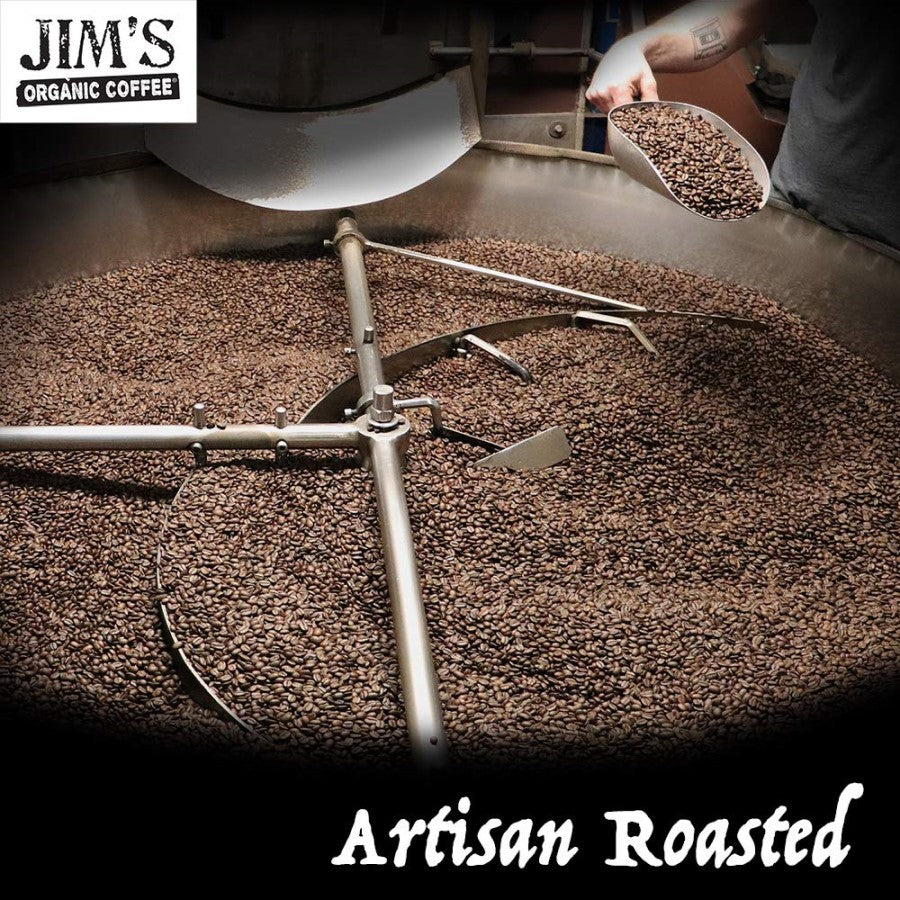 Jim's Organic Sweet Love Whole Bean Coffee Blend Is Artisan Roasted