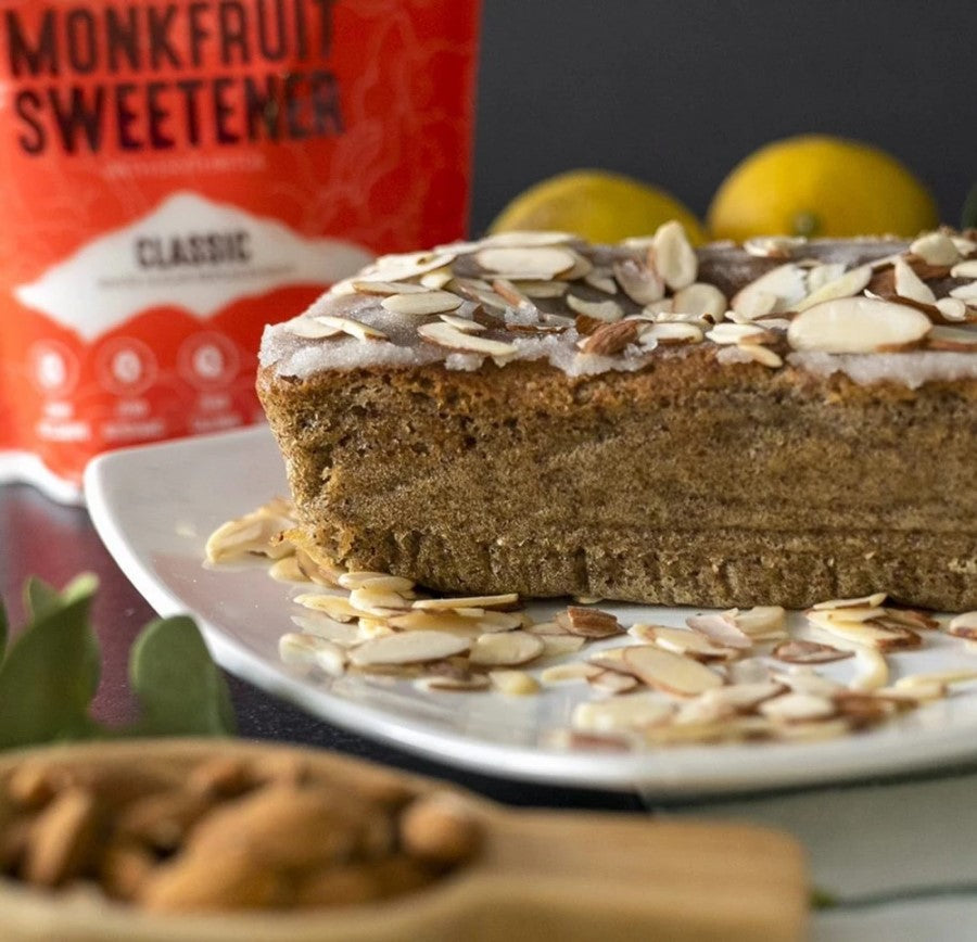 Almond Cake Made With Monkfruit Sweetener From Lakanto