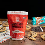Load image into Gallery viewer, Bag Of Lakanto Monkfruit Classic Sweetener White Sugar Replacement Chocolate Chip Cookies