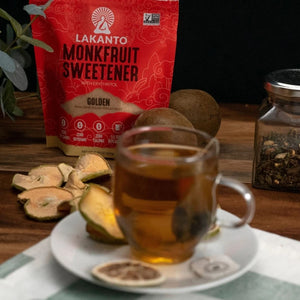 Apple Spice Tea Naturally Keto Sweetened With Monk Fruit Lakanto Golden Cane Sugar Replacement