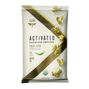 Living Intentions Activated Superfood Popcorn Salsa Verde 4oz