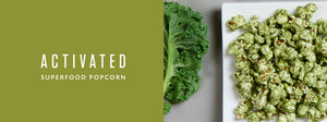 Activated Superfood Popcorn Salsa Verde Snack Food