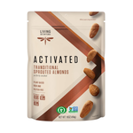 Load image into Gallery viewer, Living Intentions Activated Sprouted Nuts Almonds Unsalted 16oz