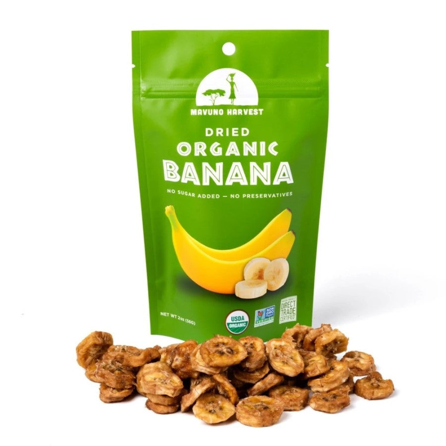 Mavuno Harvest Organic Dried Banana 2oz
