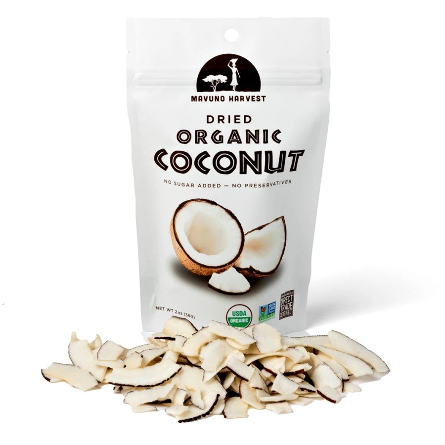 Mavuno Harvest Organic Dried Coconut 2oz