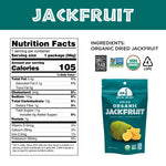 Load image into Gallery viewer, Organic Jackfruit Mavuno Harvest Nutrition Facts And Ingredients