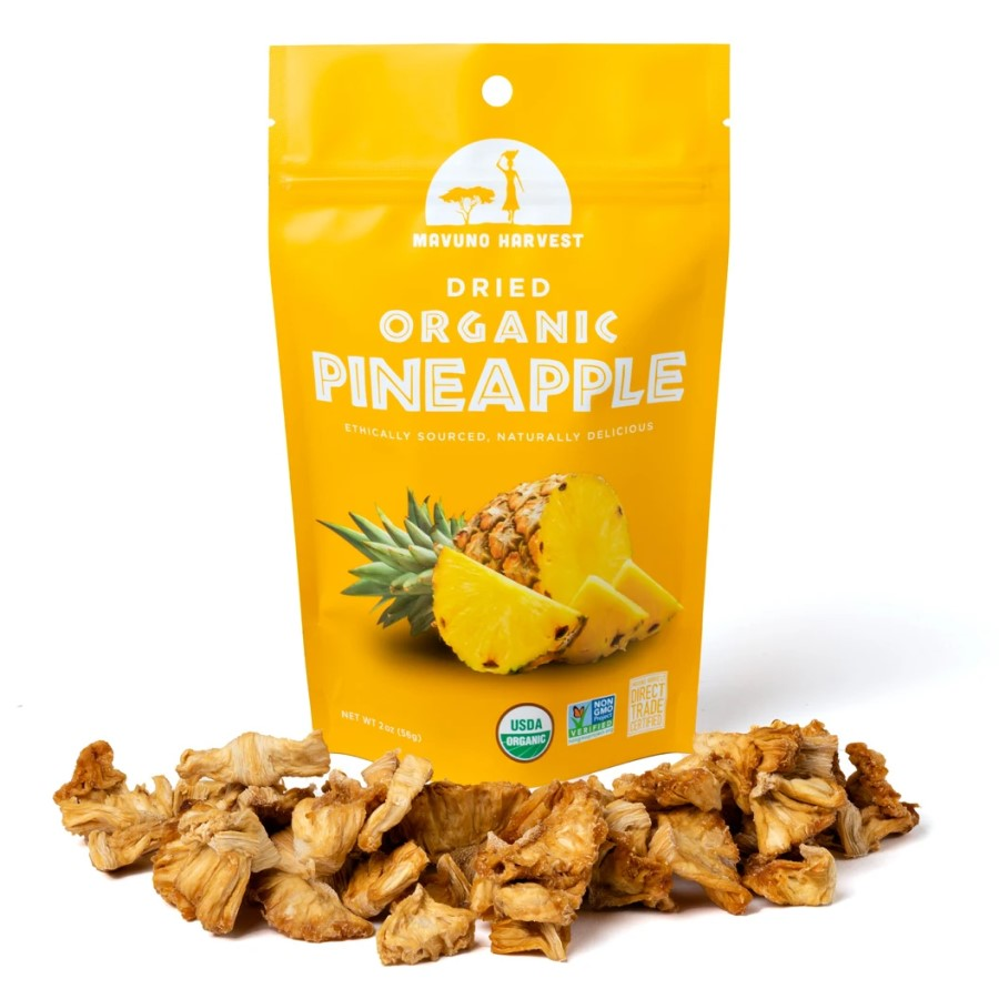 Mavuno Harvest Organic Dried Pineapple 2oz