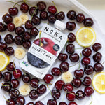 Load image into Gallery viewer, Fresh Organic Cherries Banana Lemon Noka Superfood Blend Smoothie Pouch