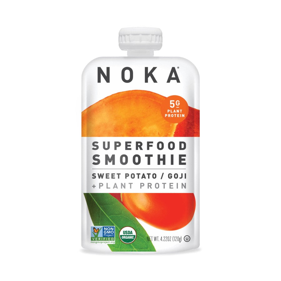 NOKA Superfood Smoothie Sweet Potato & Goji 4.22oz