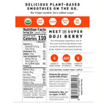 Load image into Gallery viewer, Sweet Potato Goji Berry NOKA Smoothie Pouch Non-GMO Plant Based Ingredients And Nutrition Facts With Zero Added Sugar