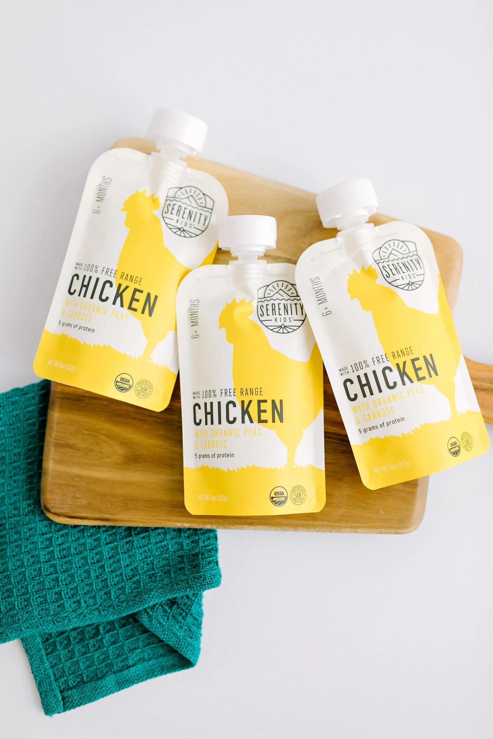Keto Friendly Chicken Baby Food Pouches