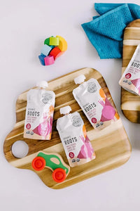 Keto Friendly Organic Veggie Roots Baby Food Pouches
