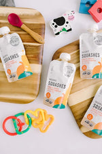 Load image into Gallery viewer, Keto Friendly Organic Veggie Squashes Baby Food Pouches